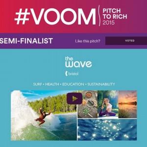 The Wave Bristol Semi-Finalist in Branson/Virgin Contest